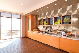 SpringHill Suites Complimentary Breakfast