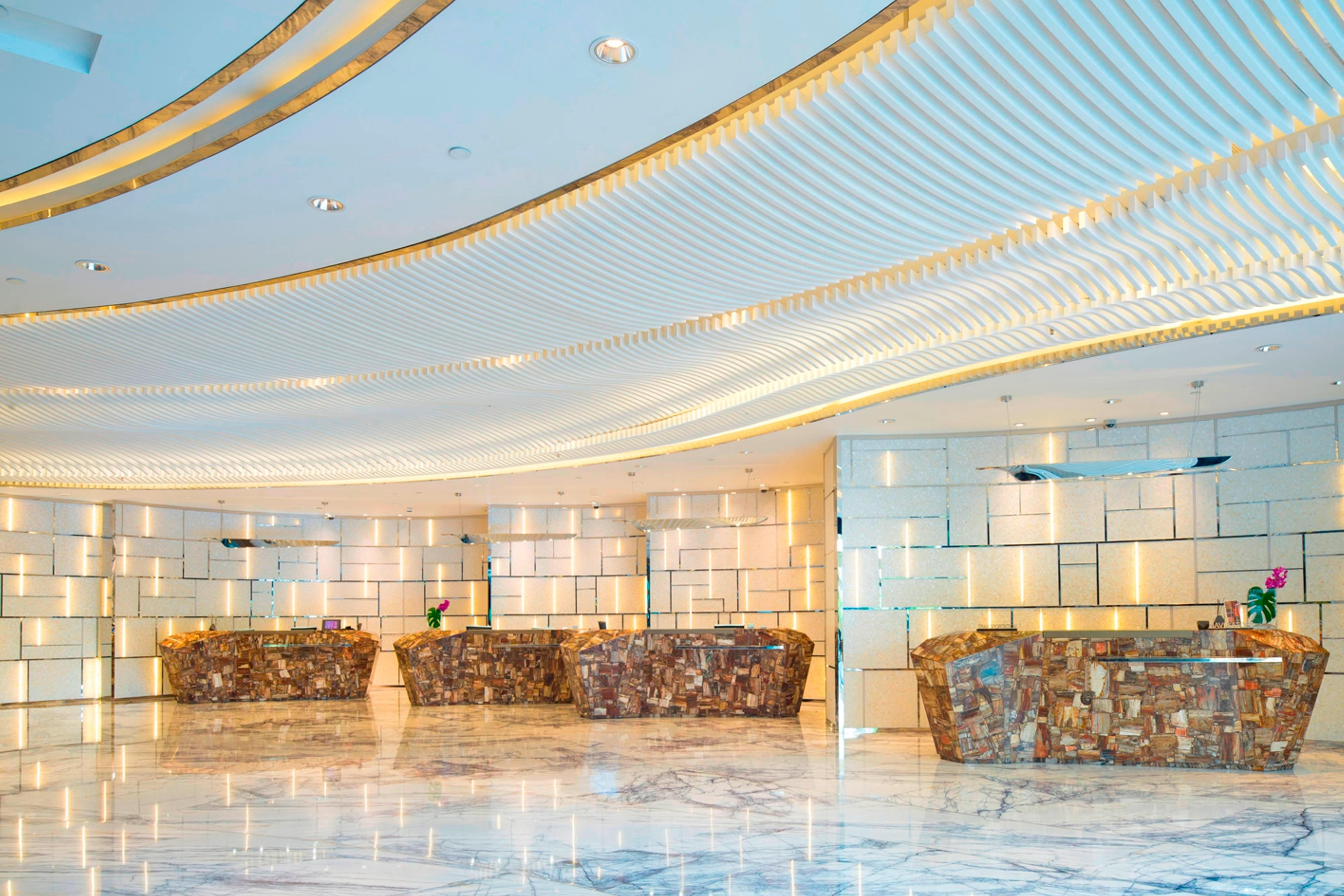 New lobby in Hongqiao Area
