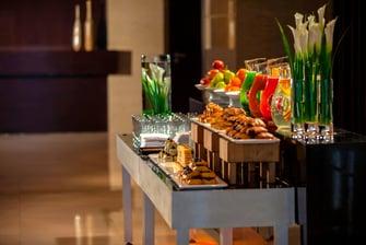 位于上海的酒店活动餐饮