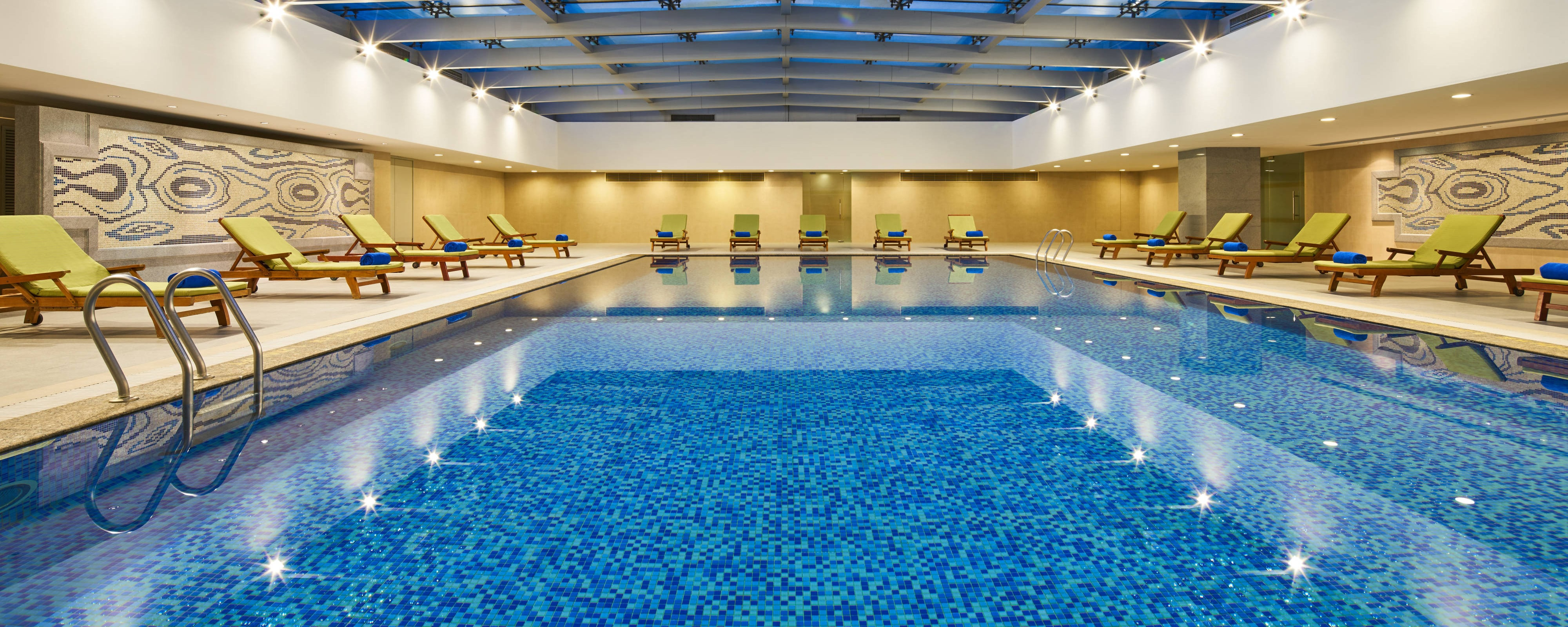 Hotel Gym In Shanghai Recreation Activities At The Four Points By Sheraton Shanghai Daning