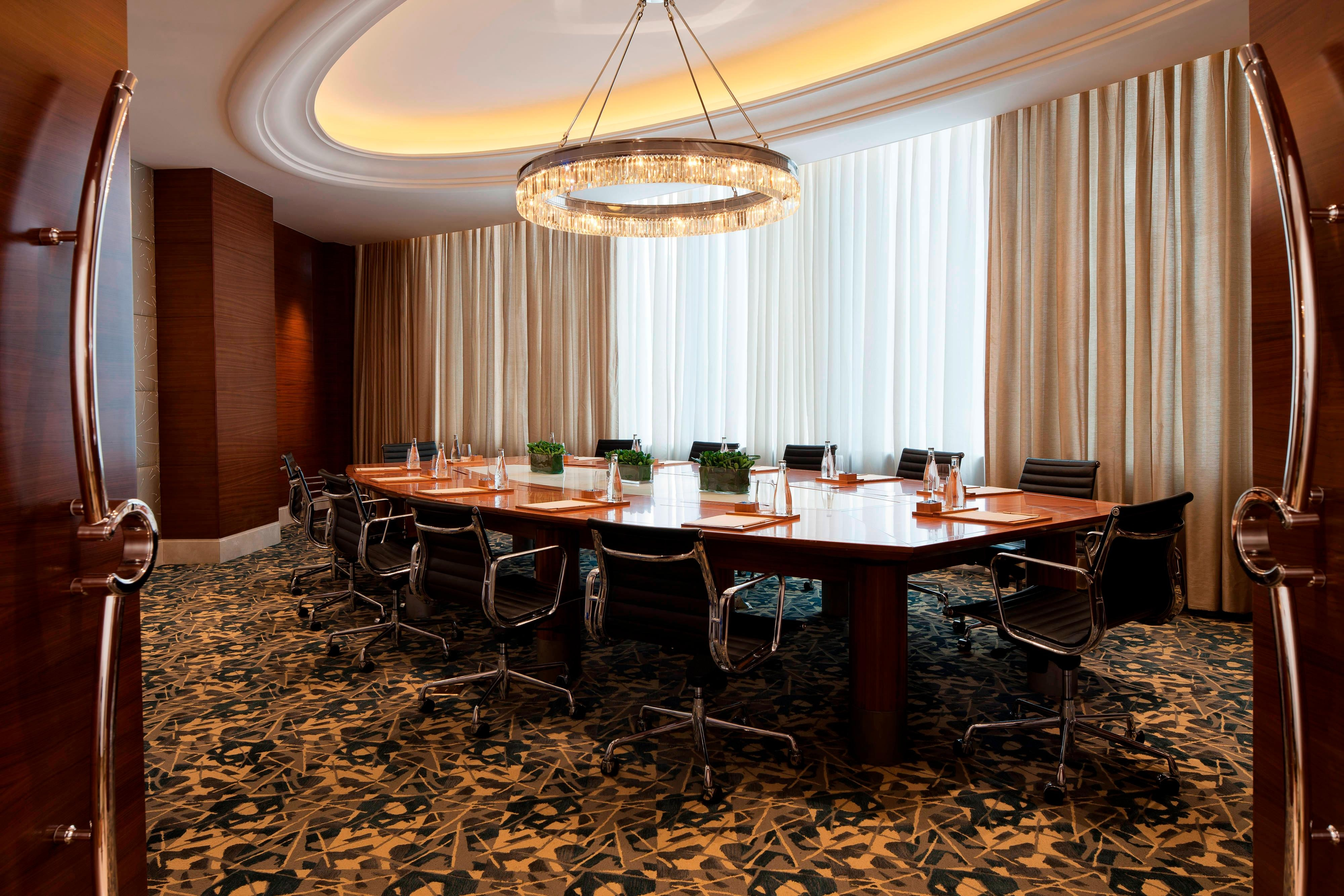 Shanghai business hotel boardroom