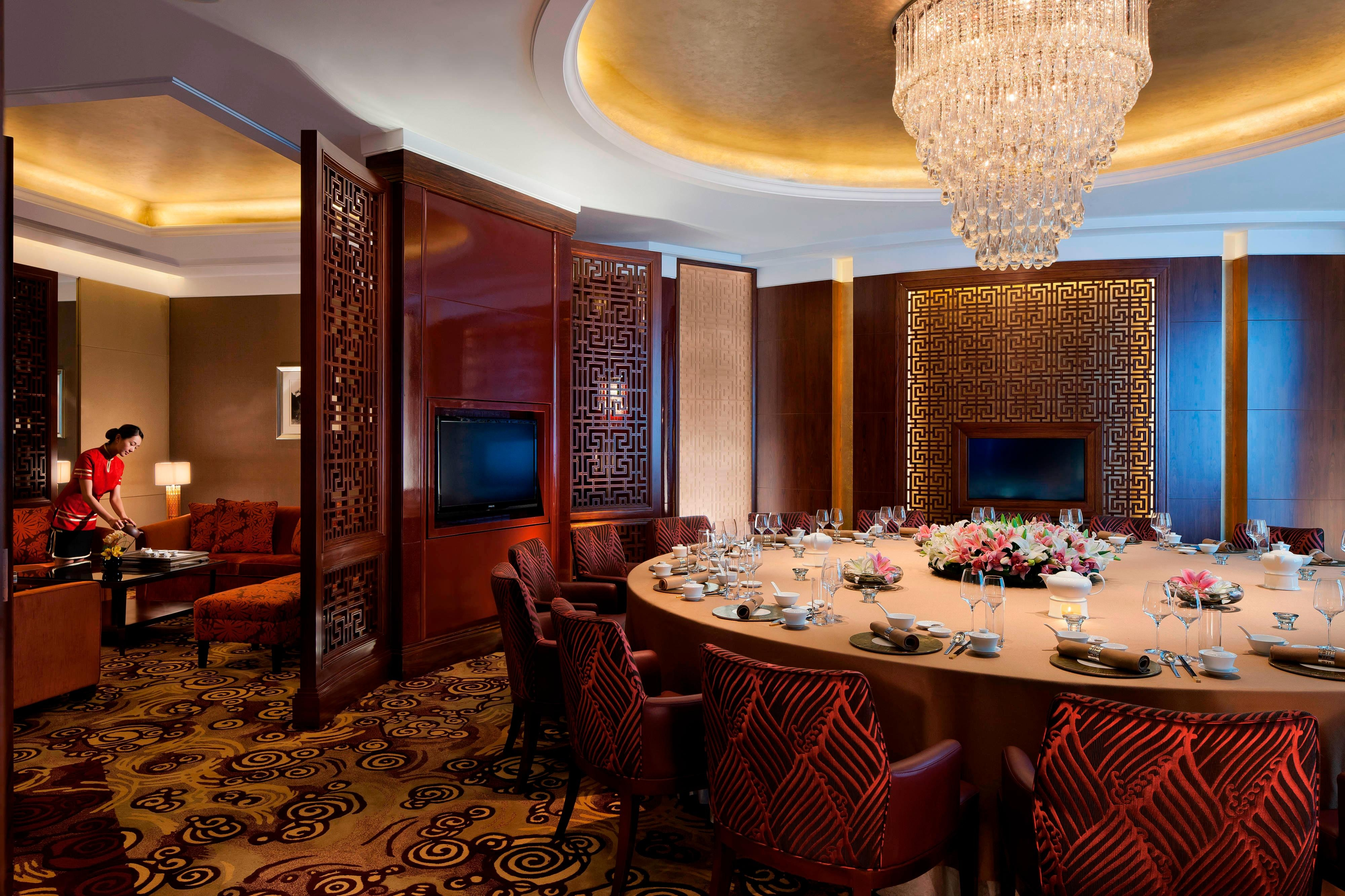 Private dining in Shanghai