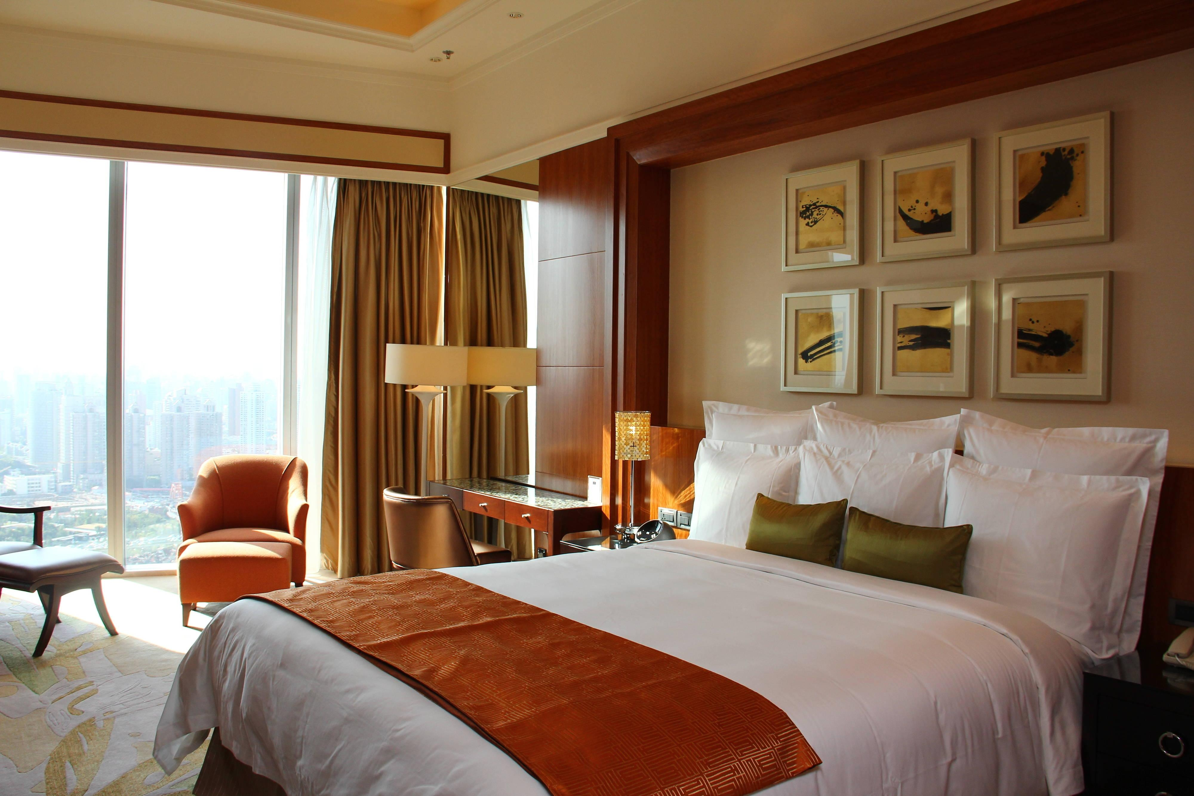 Suite with view of Shanghai