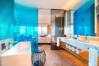 奇妙客房浴室