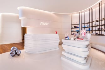 AWAY® Spa Reception