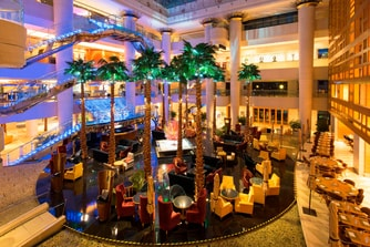 Bar-salon du lobby Heavenlies