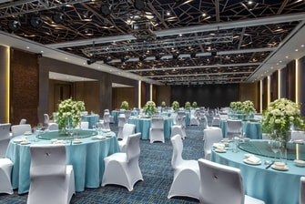 Ballroom in Wedding Reception