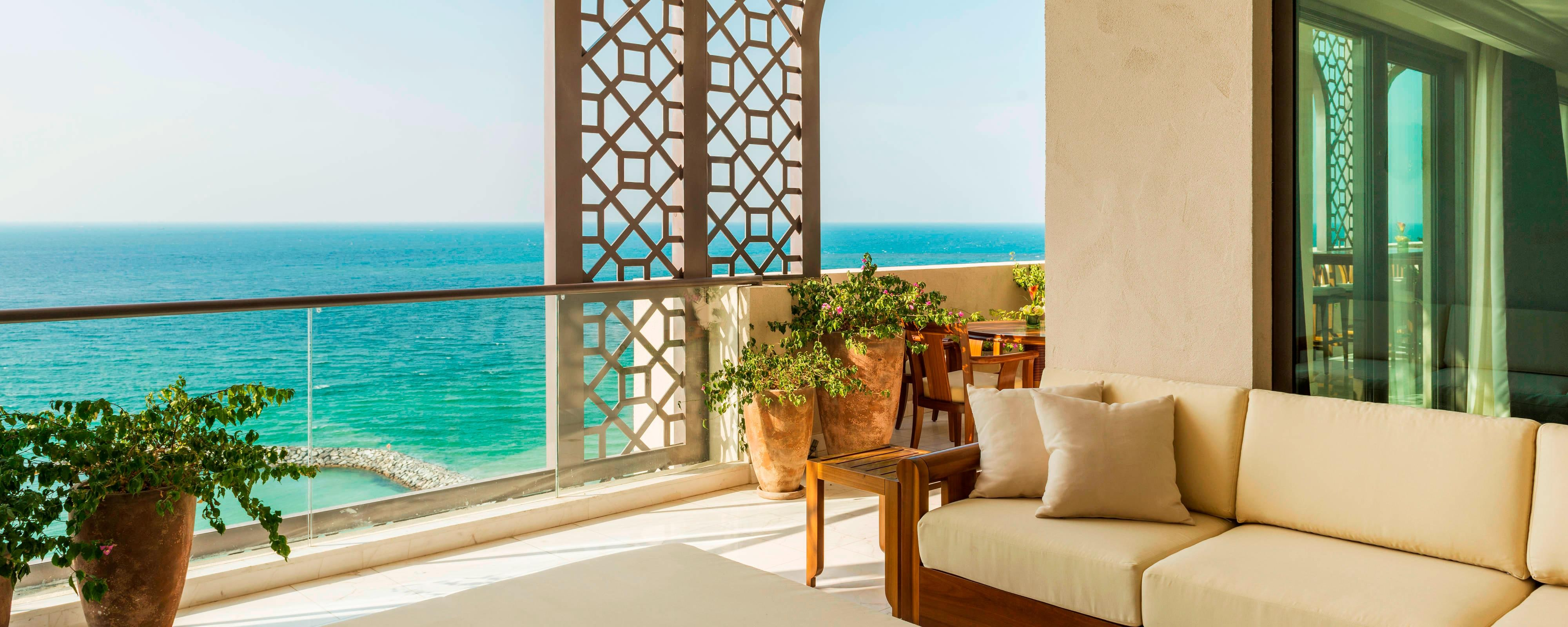 Ajman Saray - Balcony