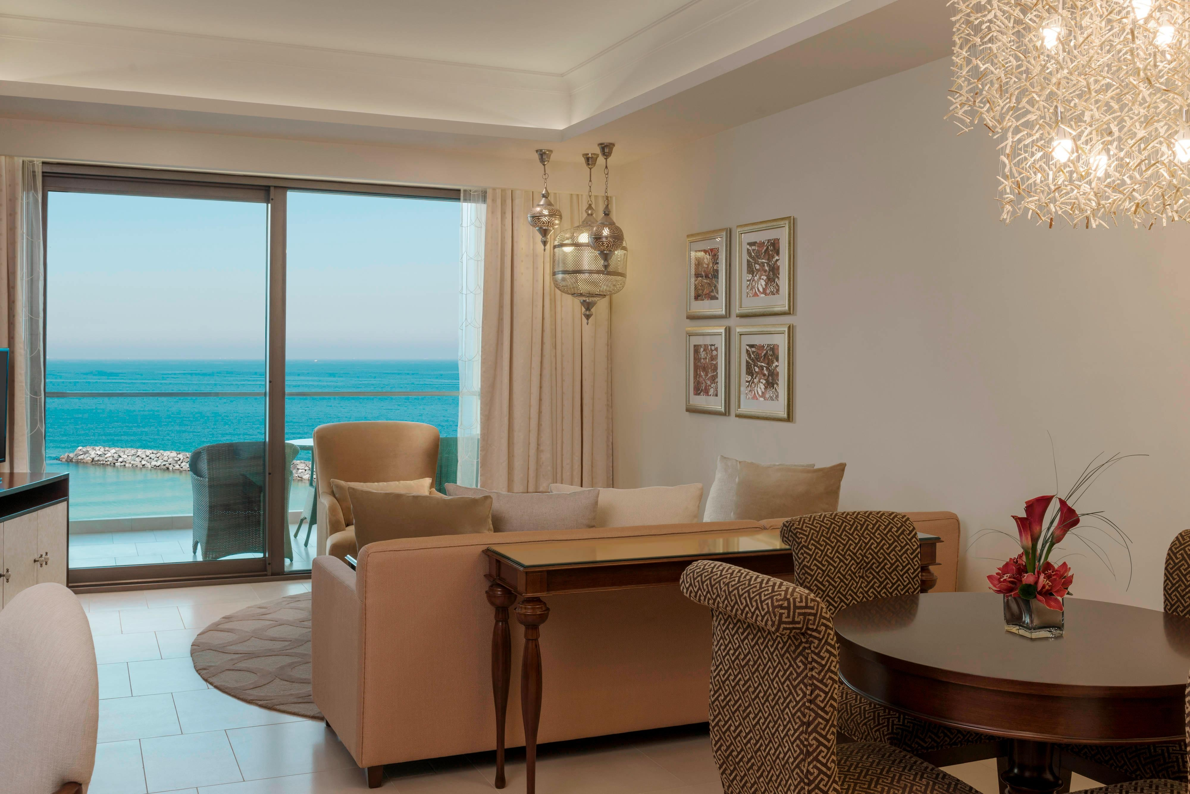 Al Dana Suite - Living Area