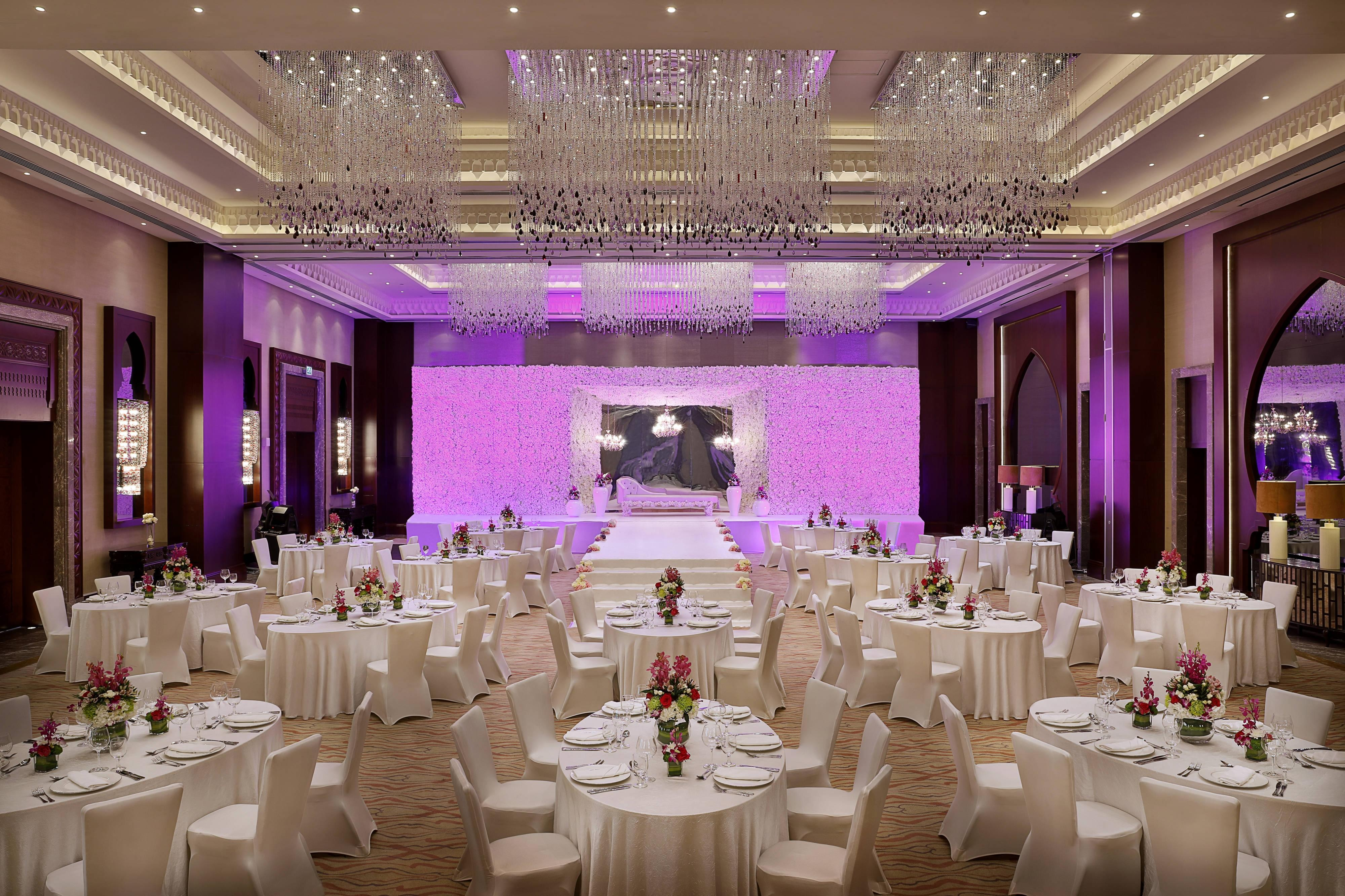 Medar Ballroom Wedding Reception