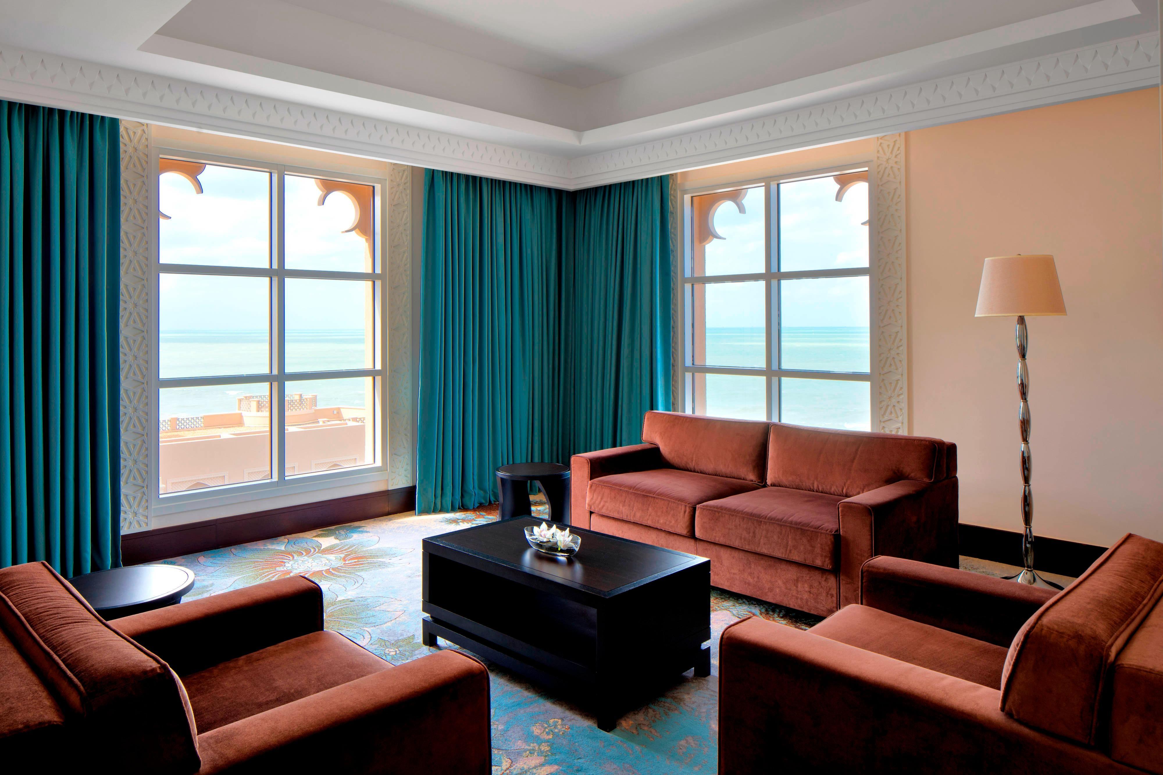 Suite Club Deluxe–Salle de séjour