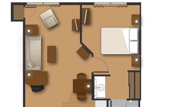 Residence Inn Shreveport Two-Bedroom Suite