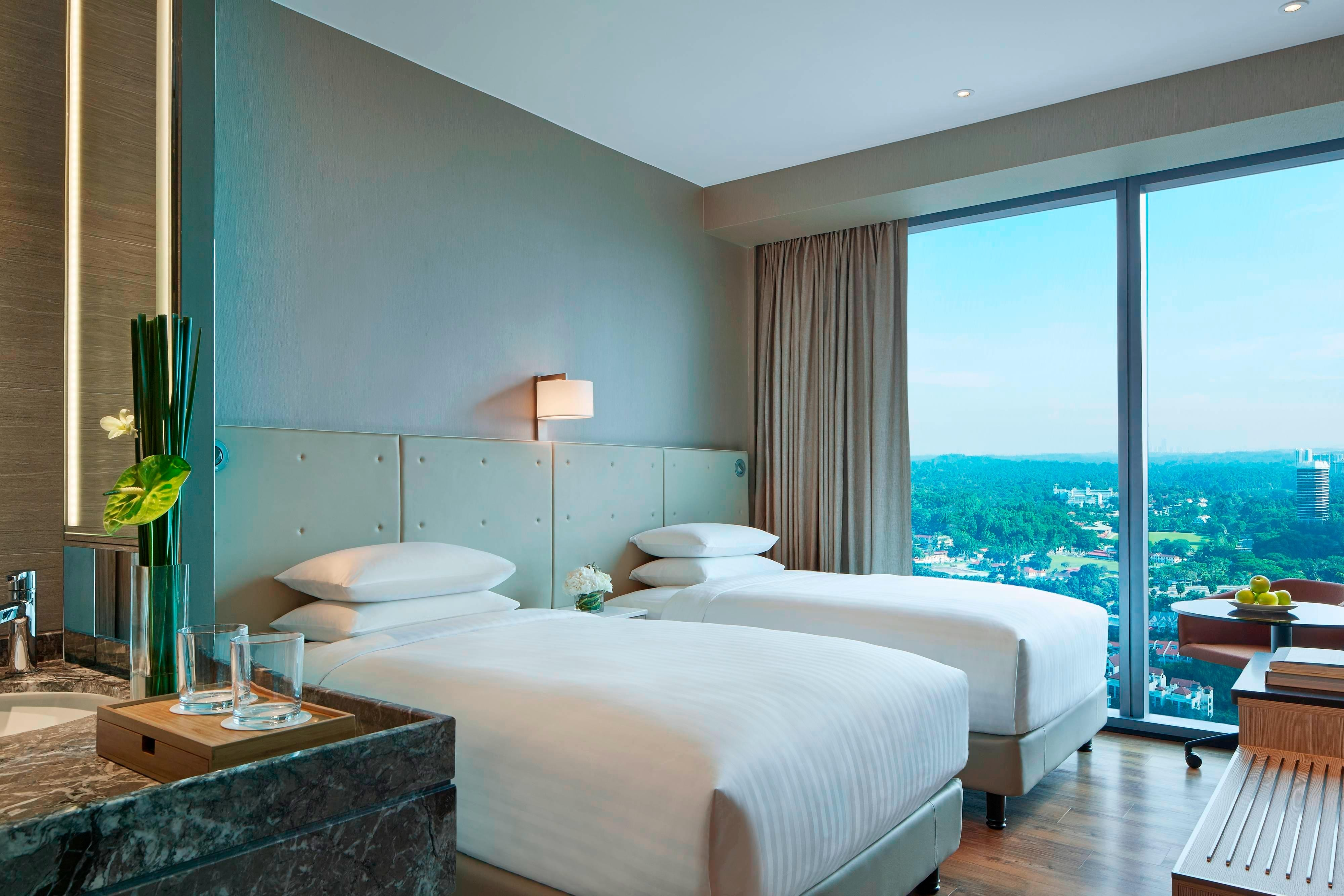 Executive Twin/Gästezimmer mit zwei Twinsize-Betten