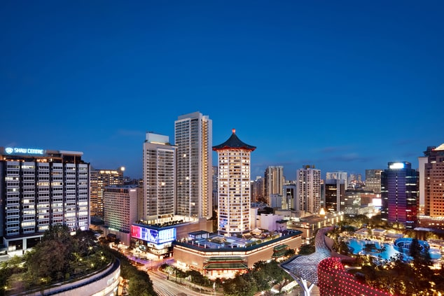 Luxury hotel in Singapore