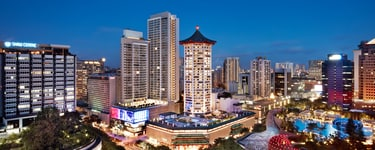 Отель Marriott Tang Plaza Hotel