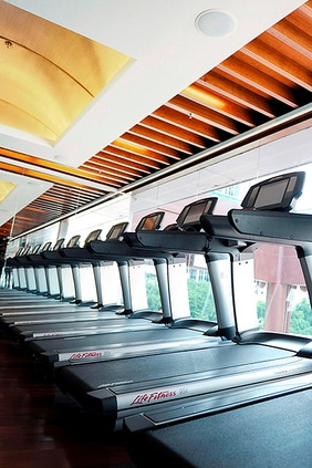 Fitness Center in Singapore hotel