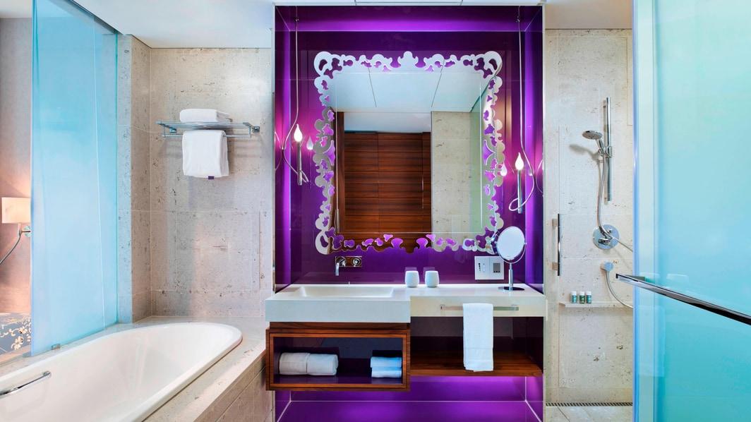 Baño de la habitación Fabulous