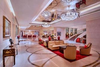 新加坡瑞吉酒店大堂
