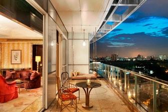 总统套房 - 阳台