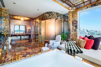 总统套房 - 浴室