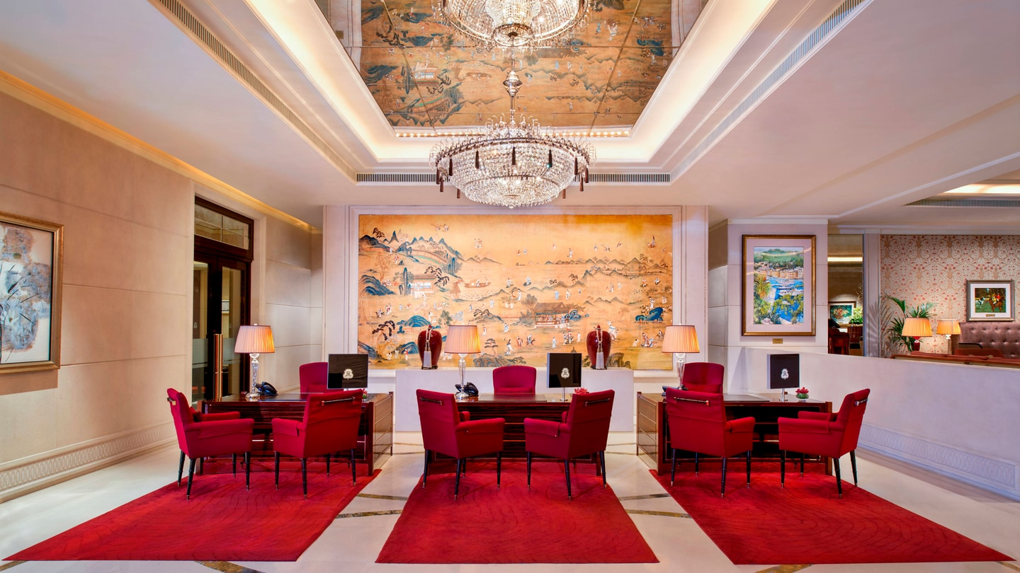 The St. Regis Singapore Reception Area
