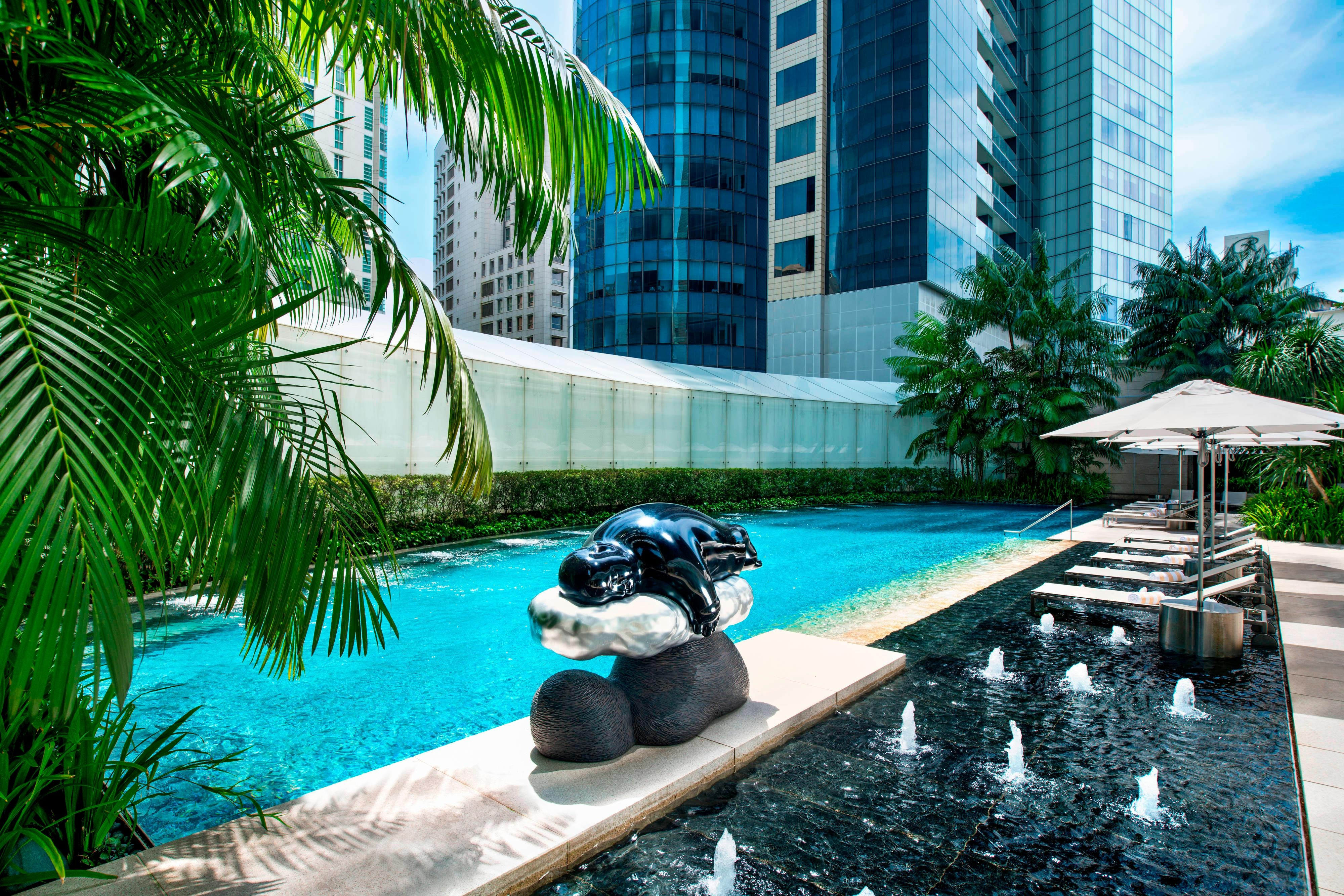 The St. Regis Singapore Tropical Pool