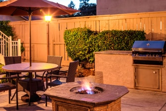 Residence Inn San Jose Campbell Patio
