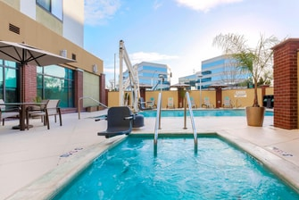 Hotel photos courtyard san jose campbell photo gallery - Campbell community center swimming pool ...
