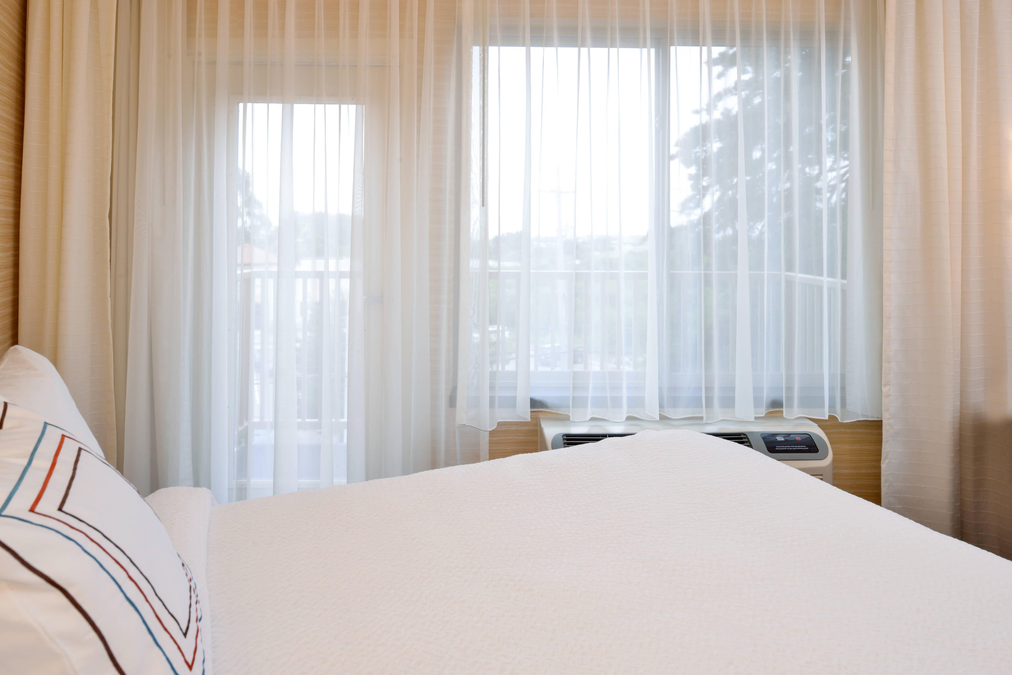 Schlafbereich in der Kingsize Suite