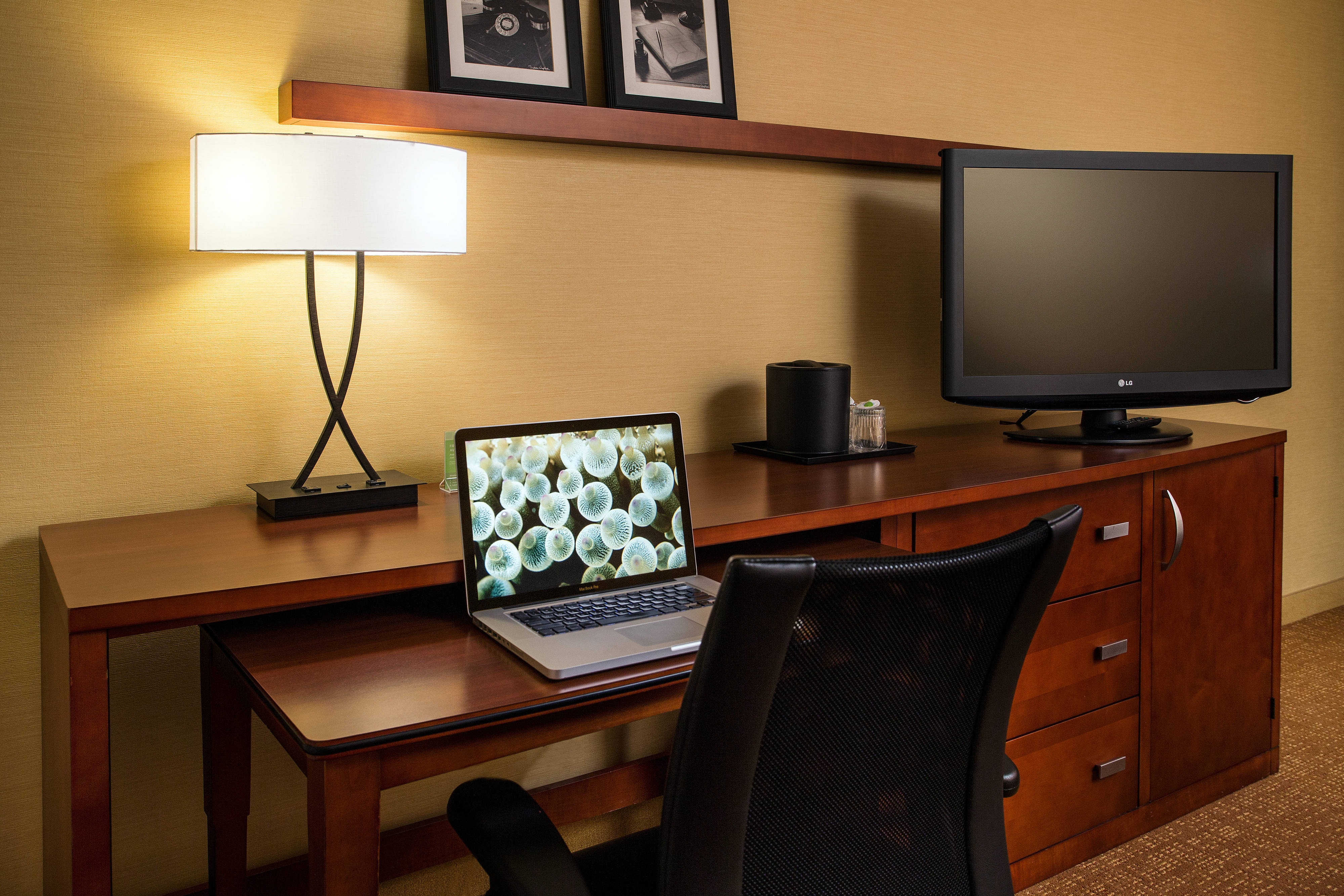 Guest Room Work Area