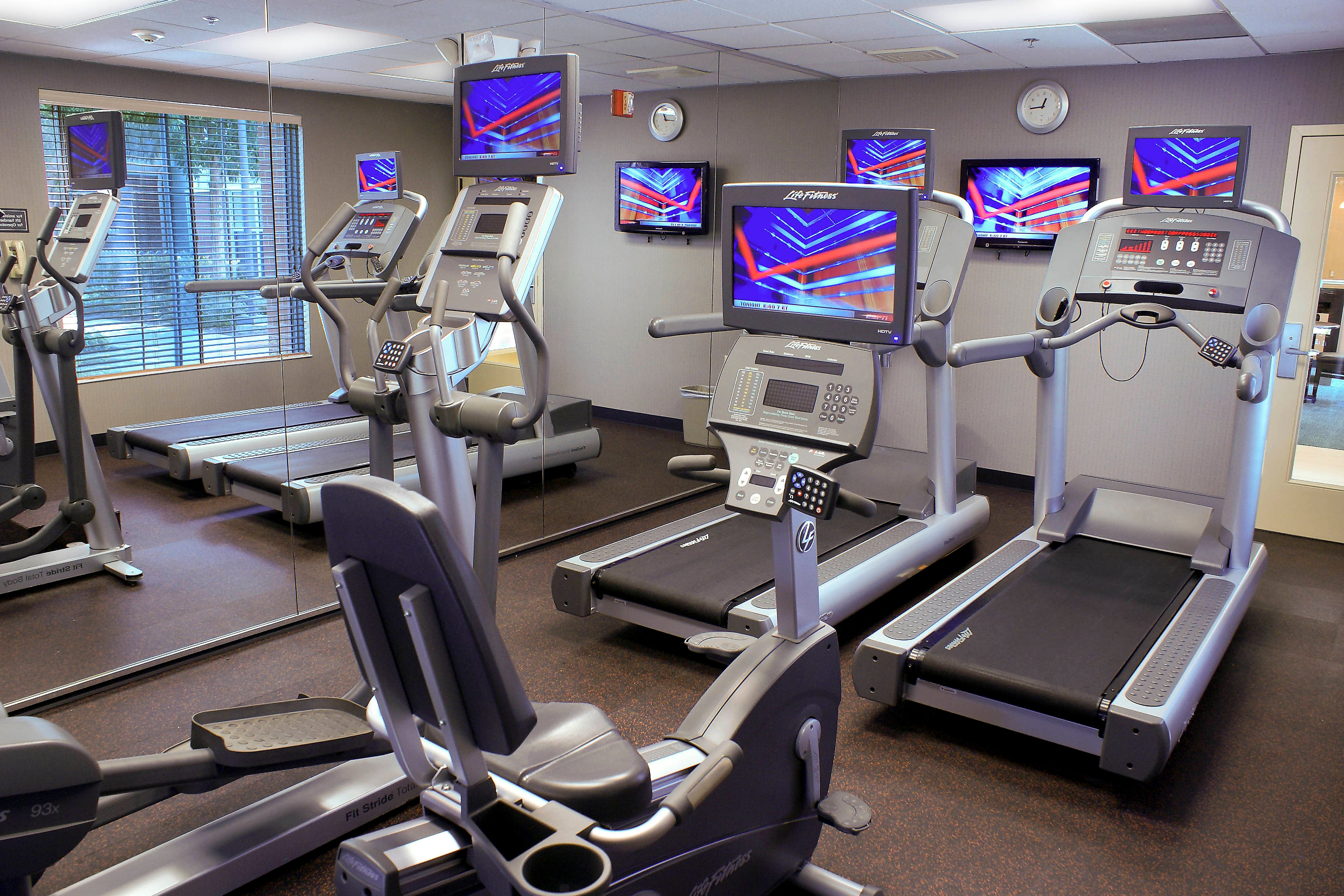 Milpitas Hotel Fitness Center