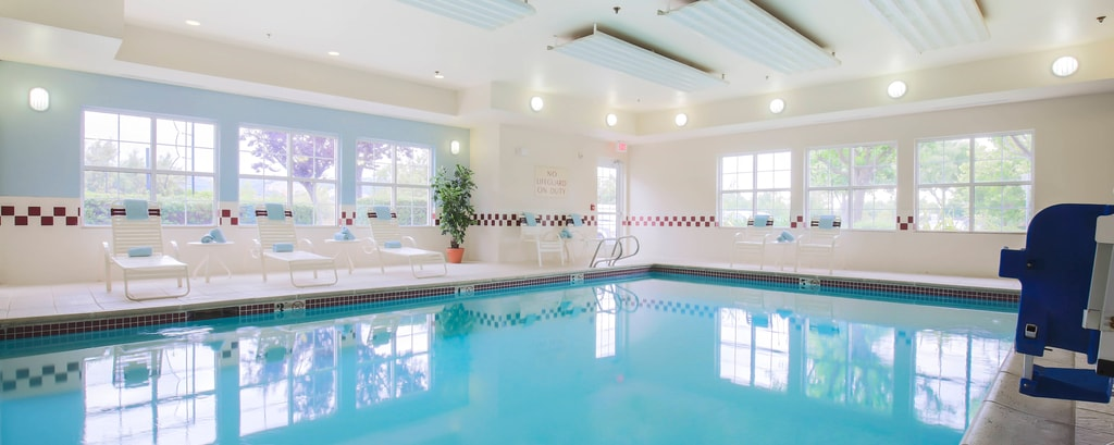 Morgan Hill California Indoor Pool & Whirlpool
