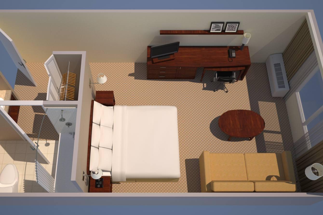 キングの客室