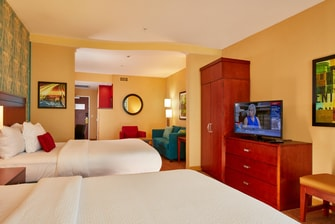 Courtyard by Marriott San Jose North/Silicon Valley Queen/Queen Larger Room