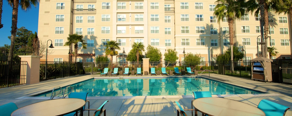 Newark accommodations with outdoor patio