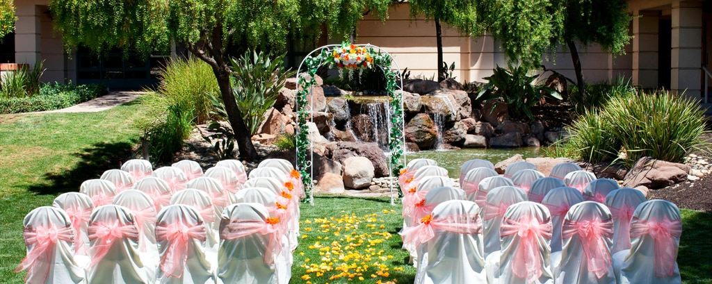 Waterfall Garden Wedding