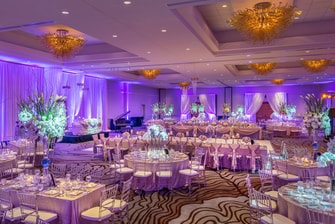 San Jose Ballroom – Wedding Setup