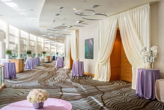 San Jose Ballroom Foyer – Wedding Setup