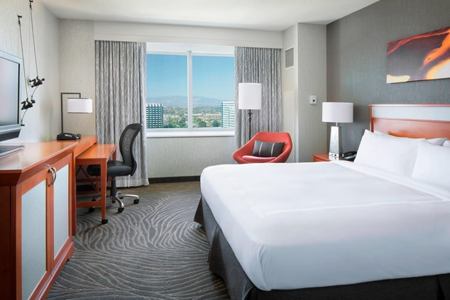 San Jose Marriott - King Guest Room