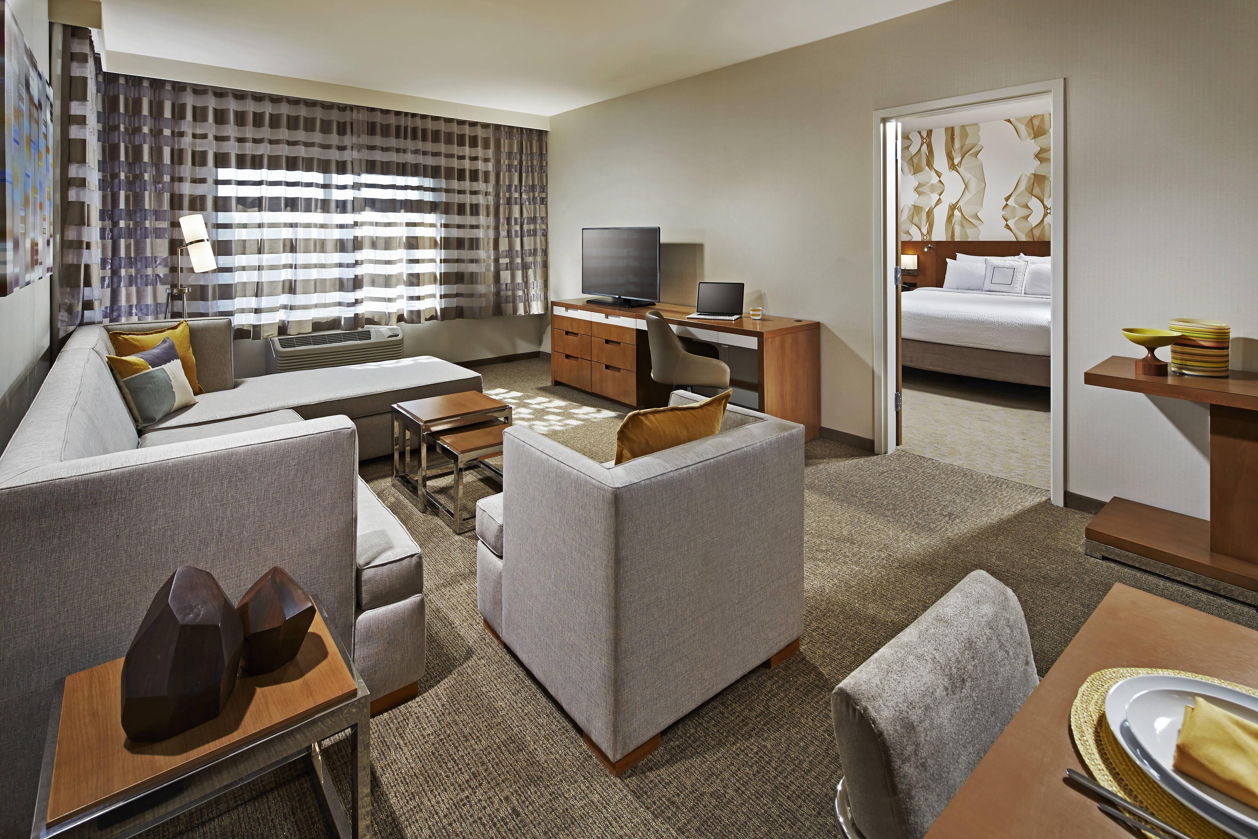 Suite Presidencial - Sala de estar
