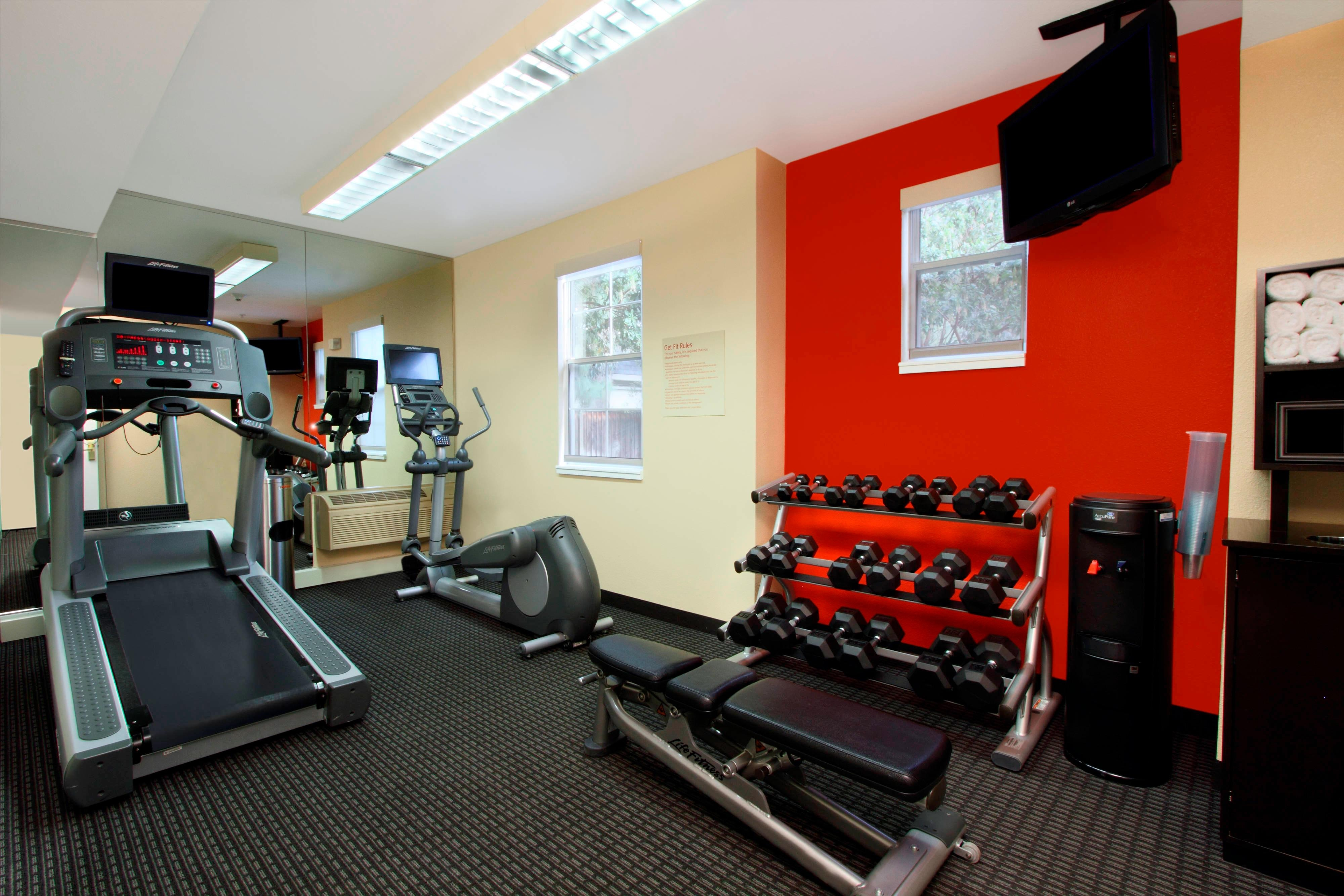 Get Fit at our Fitness Center