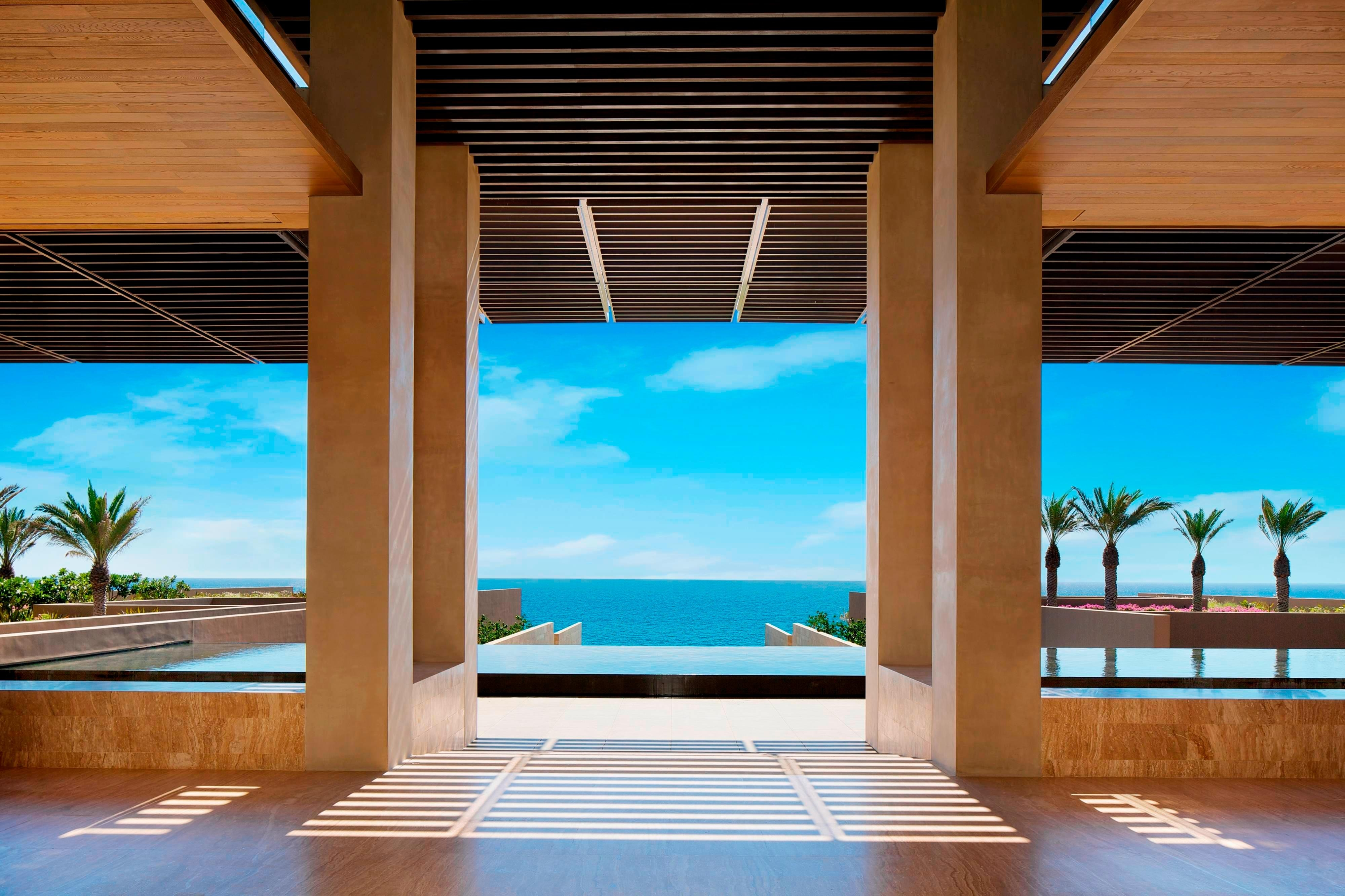 Detalles del lobby del JW Marriott Los Cabos Beach Resort & Spa