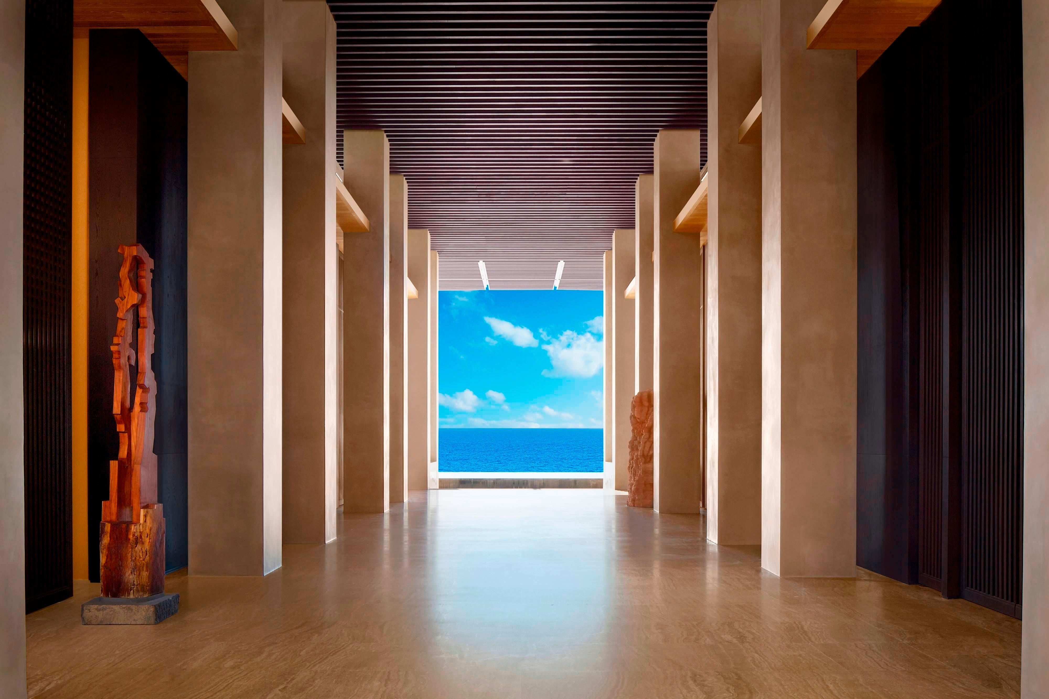 Lobby del JW Marriott Los Cabos Beach Resort & Spa