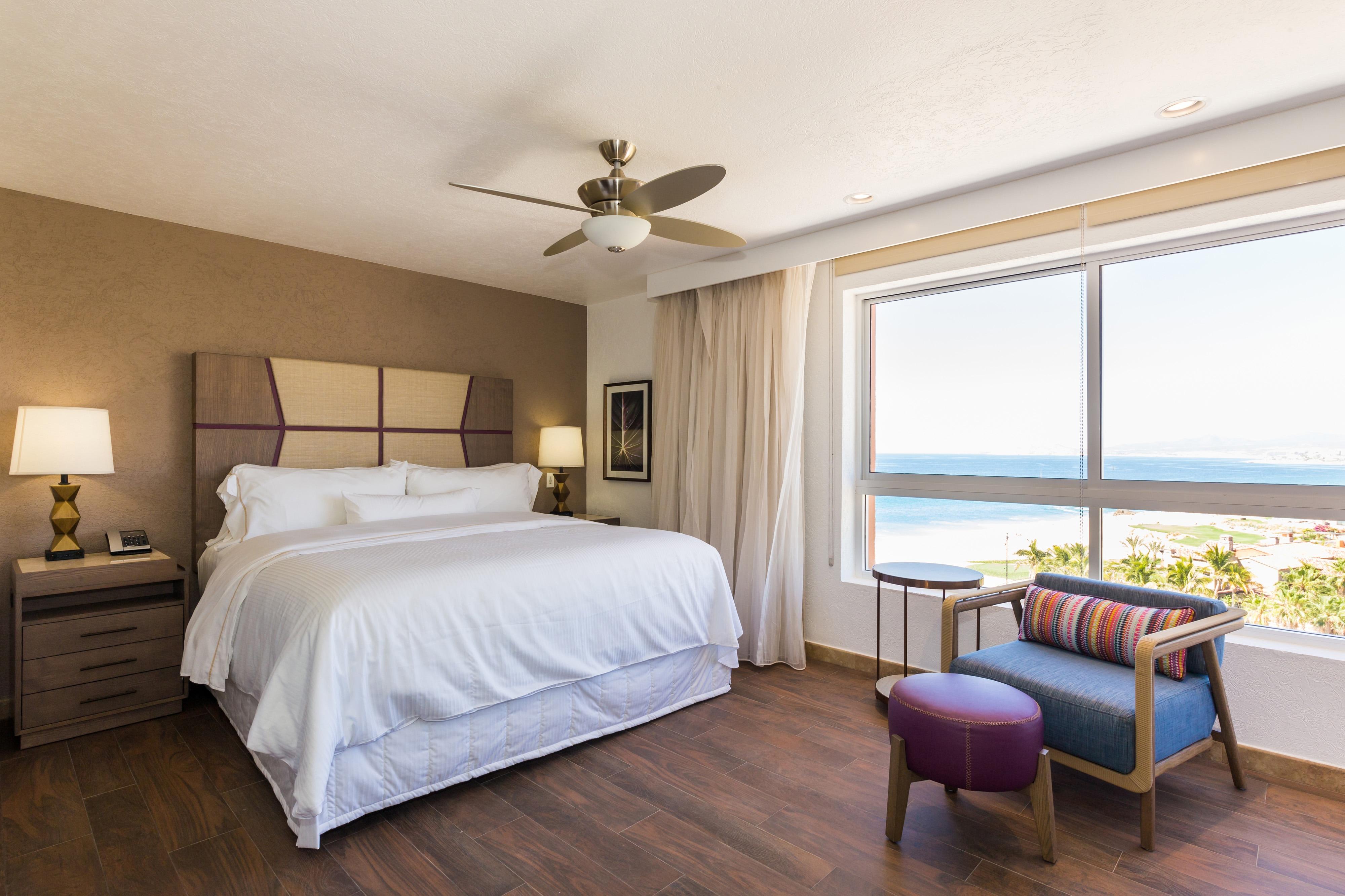 Vila Baja Point com um quarto com vista para o mar - Quarto