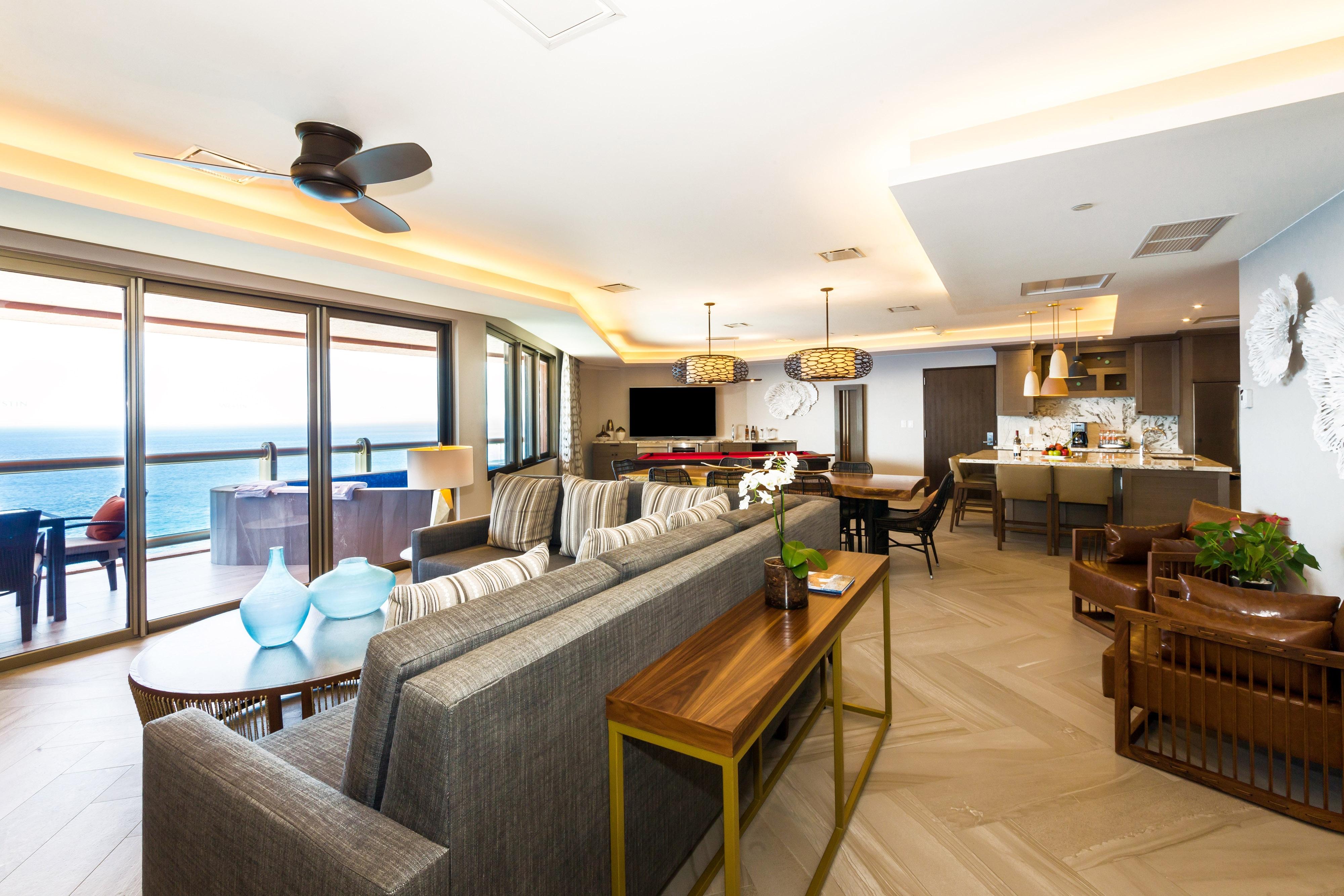 Suíte Presidential – Sala de estar e refeições
