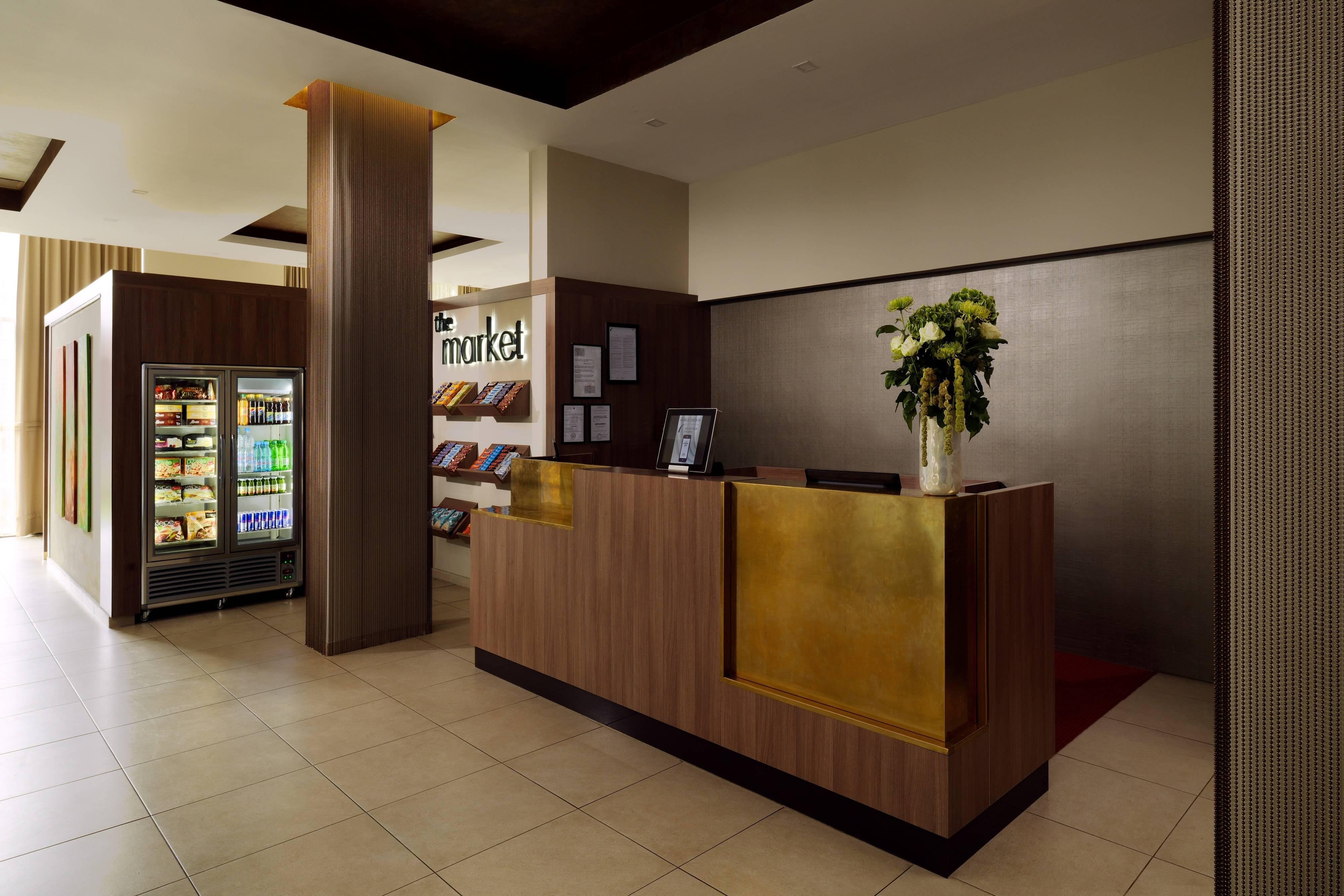 Front Desk and The Market