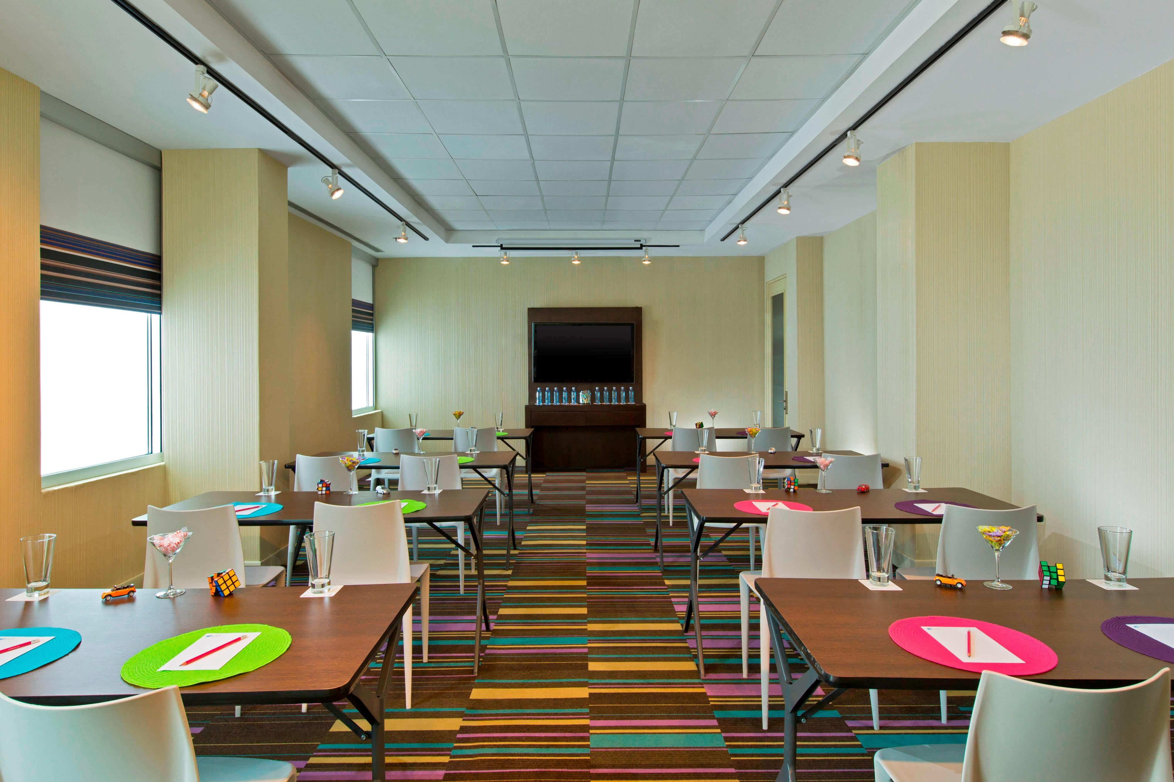 Reuniões Tactic - estilo sala de aula