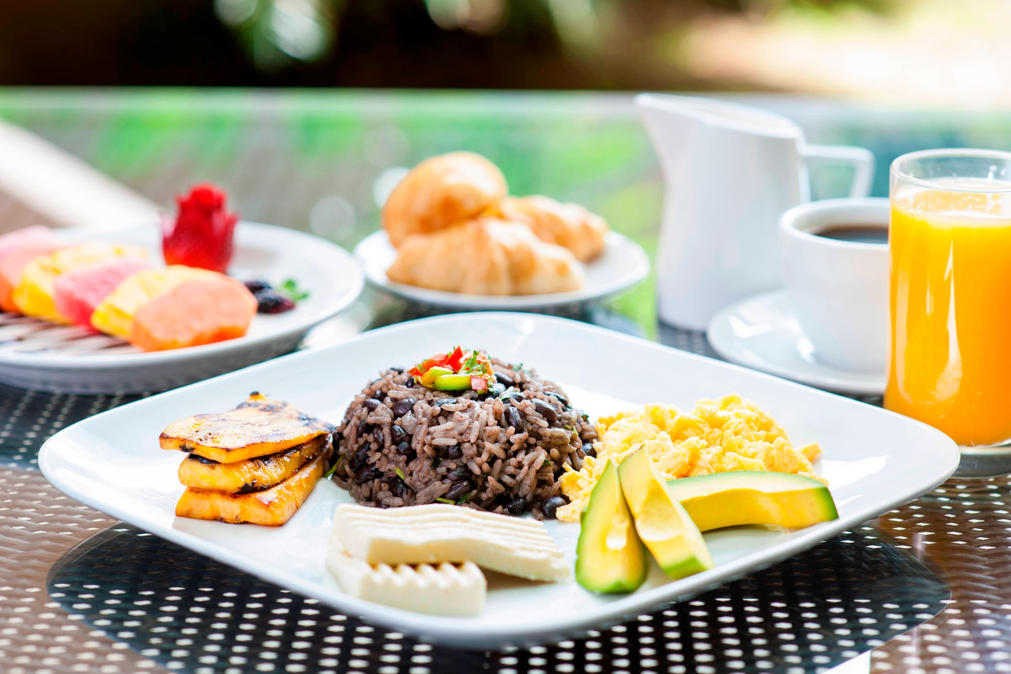 Costa Rican Breakfast Buffet