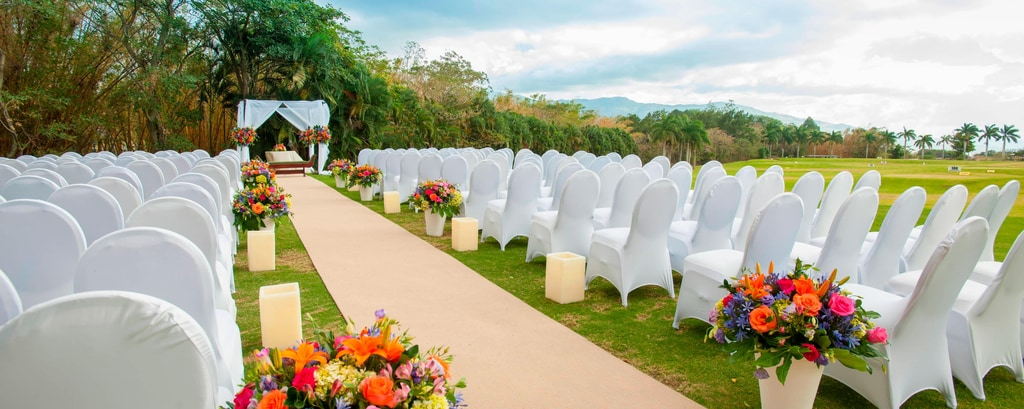 Outdoor Costa Rica Wedding Ceremony