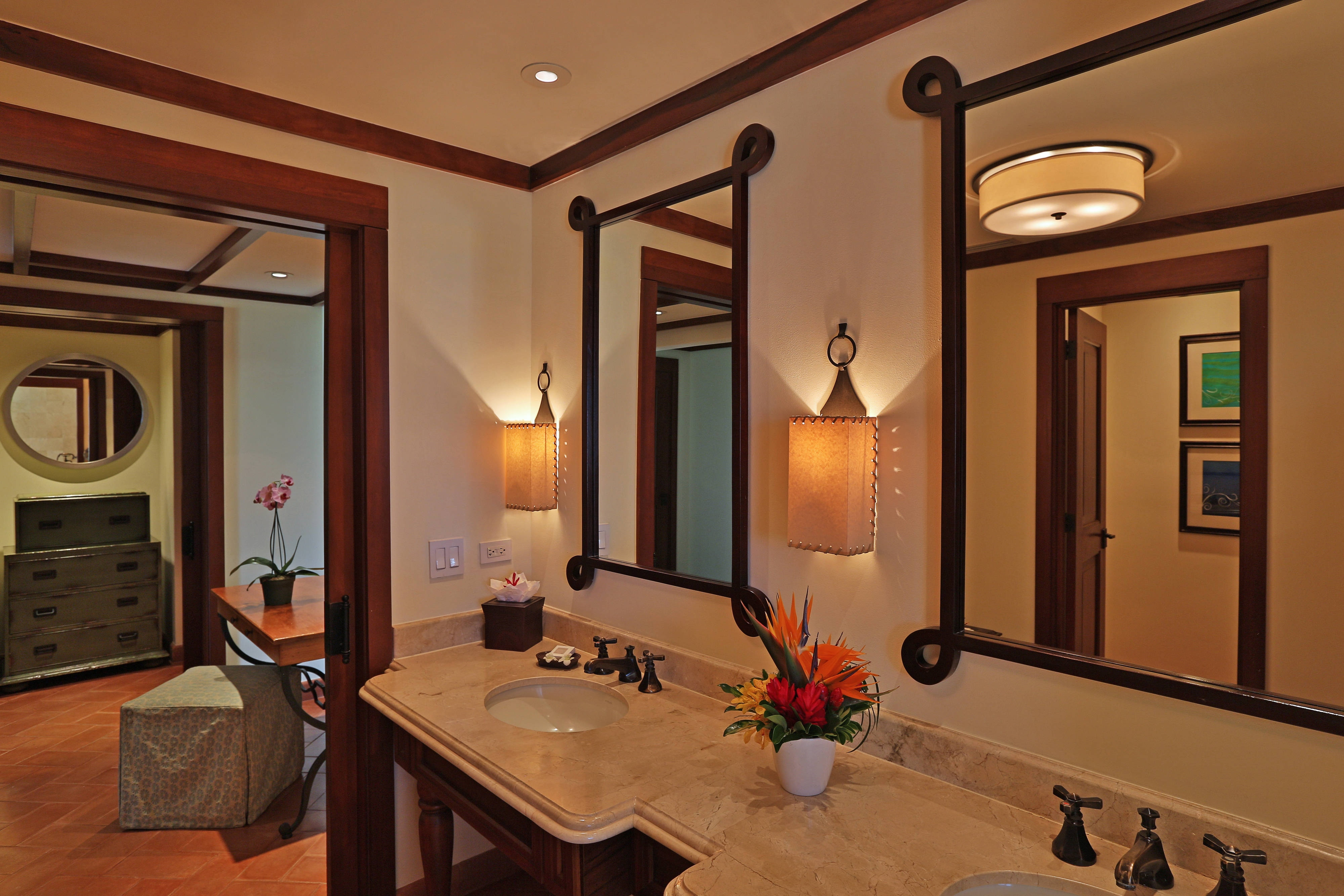 Suite bathroom in Guanacaste